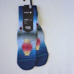 Stance kids Glass Beach socks size M